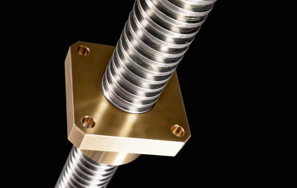 Spindles Trapezoidal, buttress threads for spindle diameters up to 190 mm